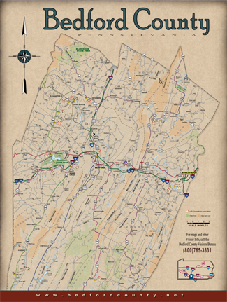 The Bedford County Visitors Bureau | Bedford County ... on al map, nys map, wv map, mi map, philadelphia map, ca map, ga map, delaware map, ar map, md map, ky map, fla map, de map, pennsylvania map, ohio map, oh map, state map, az map, usa map,